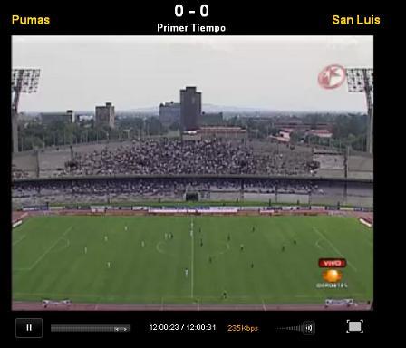Pumas vs San Luis en vivo, Apertura 2010 - pumas-san-luis-en-vivo-apertura-2010