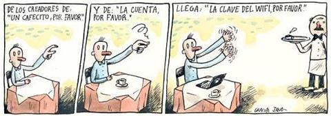 restaurante wifi La cuenta y el WiFi porfavor [Humor]