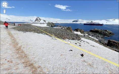 Google Street View llega a la Antártida - street-view-antartida
