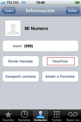 usar facetime iphone Activar FaceTime en iPhone