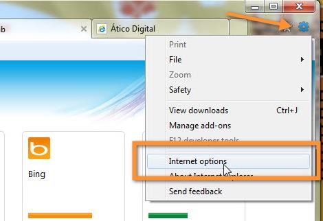 31 10 2010 12 39 38 p.m. Personalizar, cambiar o quitar la página de Nueva Pestaña en Internet Explorer 9