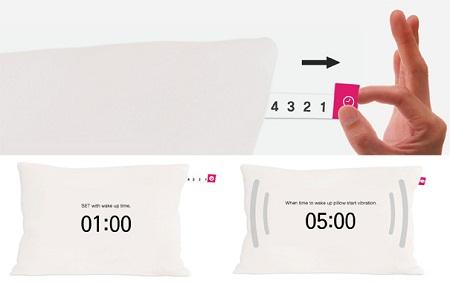 Almohada con alarma integrada - Almohada-con-alarma-integrada