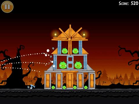 Angry Birds Halloween Angry Birds Halloween disponible para iPhone y iPad