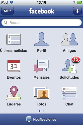 Como manejar páginas en Facebook desde tu iPhone - Facebook-iphone-principal