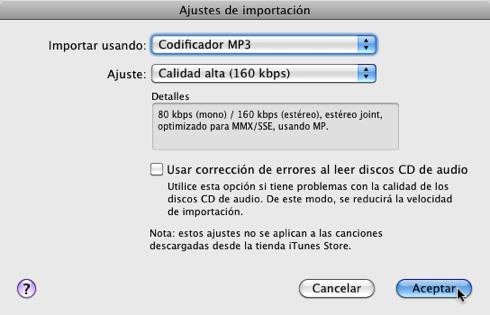 Importar un cd a itunes en buena calidad 6 Ajustes para importar un CD a iTunes con buena calidad