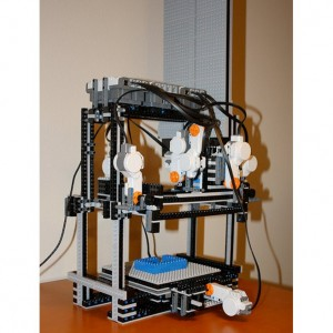 Robot de Lego que imprime en 3D Robot de Lego que imprime en 3D