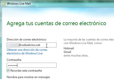 Agregar correo webadictos a Windows Live Mail - Windwos-live-mail-webadictos_2