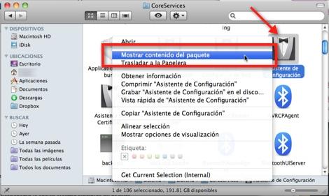 Como ubicar el video de introducción de Mac OS X - asitente-de-configuracion