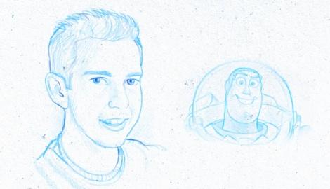 como dibujar como pixar kyle lambert Kyle Lambert te enseña a dibujar como Pixar