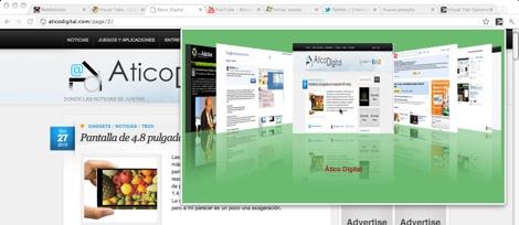 Visualiza tus pestañas de Google Chrome en un Cover Flow - configurar-visual-tab-google-chrome