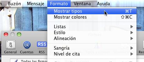 firma mail 8 Hacer firma de correo en Mail para Mac