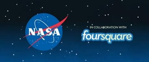 Foursquare usado en la NASA - foursquare-nasa