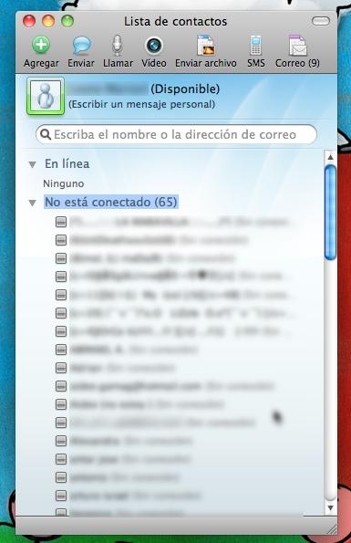 Disponible versión final de Messenger 8 para Mac - messenger-mac-81