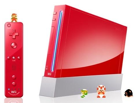 nintendo wii mario bros 25 aniversario Wii conmemorativo de los 25 años de Mario Bros