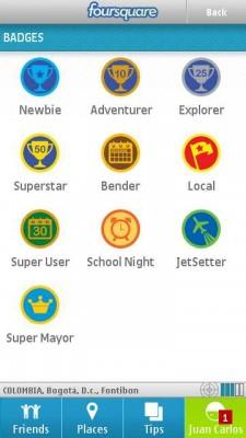 nokia foursquare e1287060487472 Foursquare para nokia, app oficial