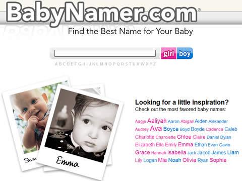 nombres de bebes Nombres para bebes en BabyNamer
