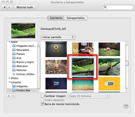 seleccionar fondos de pantalla Como poner un wallpaper Dual screen en tu Mac