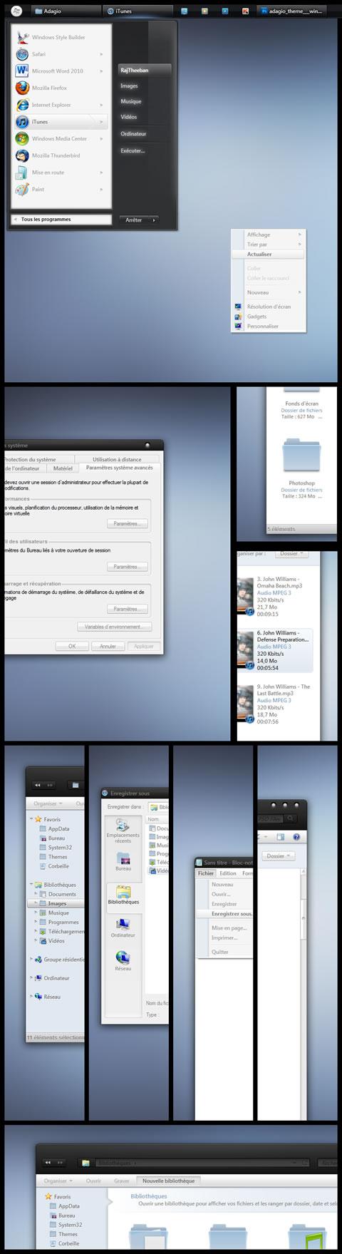 Temas windows 7, Adagio - temas-para-windows