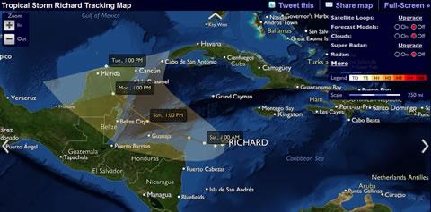 Información de huracanes y tormentas online - tormentas-huracanes