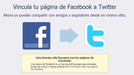 Dos links básicos para Facebook - tw+FB