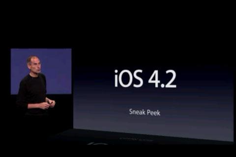 El iOS 4.2 aparentemente mejora el rendimiento en el iPhone 3G - Apples-iOS-4.2