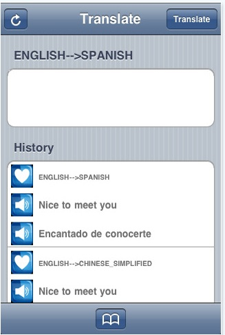 Traductor para iPhone, G Translate - G-translate