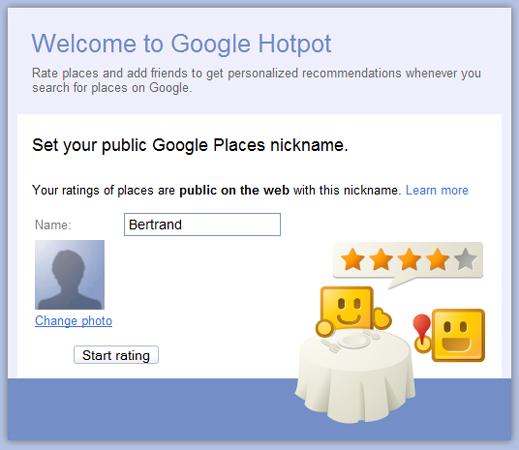 Google Hotpot, el nuevo servicio de recomendaciones locales - Google-Hotpot-Welcome-Window