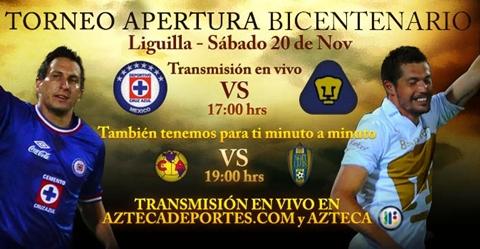cruz azul pumas en vivo cuartos apertura 2010 Cruz Azul vs Pumas en vivo, Cuartos de Final Apertura 2010