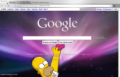 Como colocar una imagen de fondo a tu página de inicio de Google - google-imagen-de-fondo