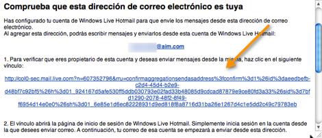 Agregar tus servicios de correo electrónico externo a Hotmail - hotmail.9