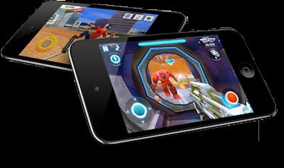 5 Juegos gratis para el iPhone que te recomendamos - iPod-Touch-juegos