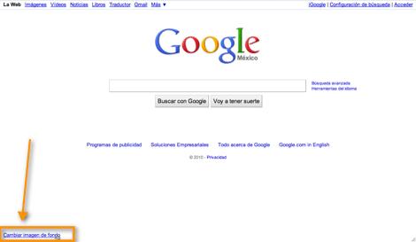 Como colocar una imagen de fondo a tu página de inicio de Google - imagen-de-fonde