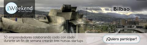 iWeekend Bilbao, Evento para emprendedores en internet - iweekend-bilbao-2010