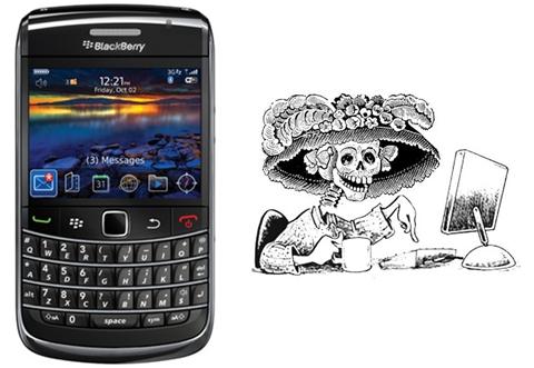 Yahoo! México también celebra día de muertos - muero-por-un-celular-gratis