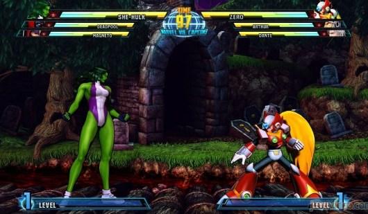 Zero y She Hulk los nuevos personajes para Marvel Vs Capcom 3 - shehulkzero-550x309