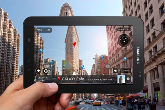 GALAXY Tab P1000 Lifestyle Image 1 copia Galaxy Tab en México