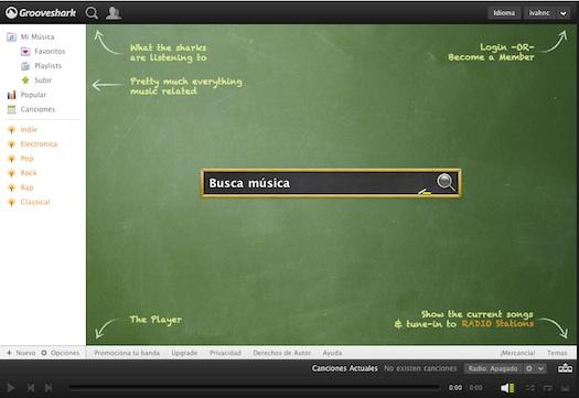 Grooveshark html5 Grooveshark deja Flash y se pasa a HTML5