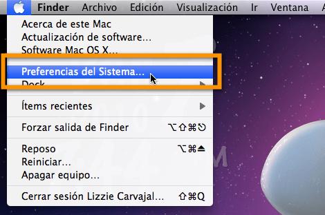 Preferencias del sistema Mac Como configurar programas de arranque en Mac