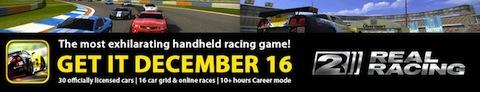 Real Racing 2 para iPhone, llegará el 16 de Diciembre - Real-Racing-2