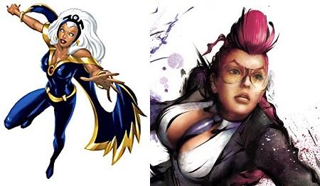 Storm y C. Viper en Marvel vs Capcom 3 - Storm-y-C.-Viper-en-Marvel-vs-Capcom-3