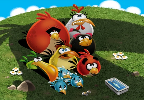 Angry Birds & the Mighty Eagle - angry-birds-the-mighty-eagle