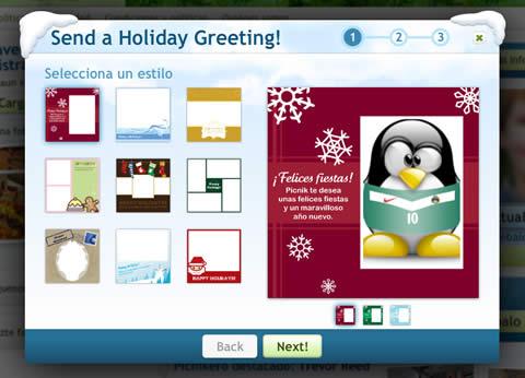 Tarjetas de navidad en Picnik - tarjetas-navidad