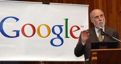 Google en contra del Internet controlado por gobiernos - vinton-cerf-google