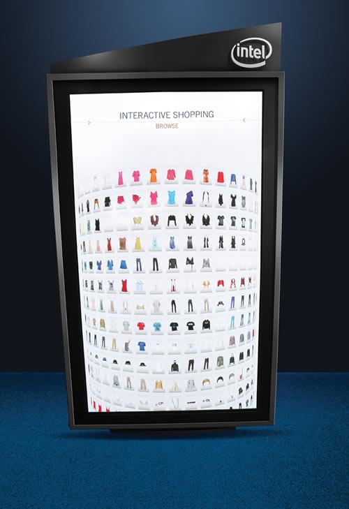 Intel presenta la tienda del futuro - Intel-Interactive-Fashion-Experience