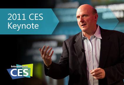 CES 2011: Presentación de Microsoft, tablet, Kinect y más - ces-2011-microsoft-steve-balmer