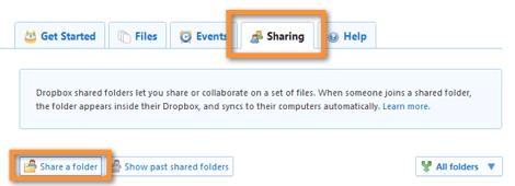 compartir en dropbox1 Como compartir una carpeta en Dropbox