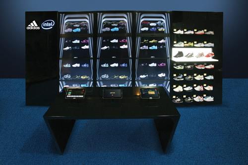 intel adidas adiverse Intel presenta la tienda del futuro