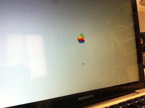 la foto1 Cambia el logotipo de arranque de Mac OS X
