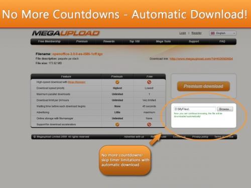 megaupload automatico MegaUpload DownloadHelper para automatizar tus descargas