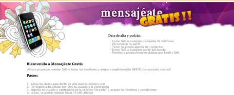mensajes telcel gratis Mensajes a celular gratis, yucatan.com.mx